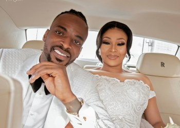 Feel all the Love at 9ice & Olasunkanmi's White Wedding in Lagos