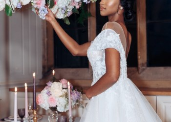 This Lush Bridal Styled Shoot by The Bailey Event Company is