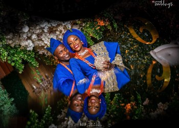 Eniola & Tobi's Traditional Engagement was a Burst of Colours and Love
