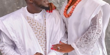 The #SJKforever Traditional Engagement was a Yoruba-Nupe Affair