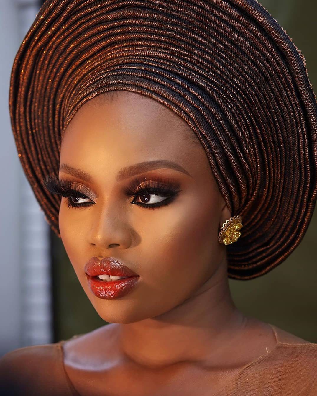 We are Crushing on This Sweet Traditional Beauty Look