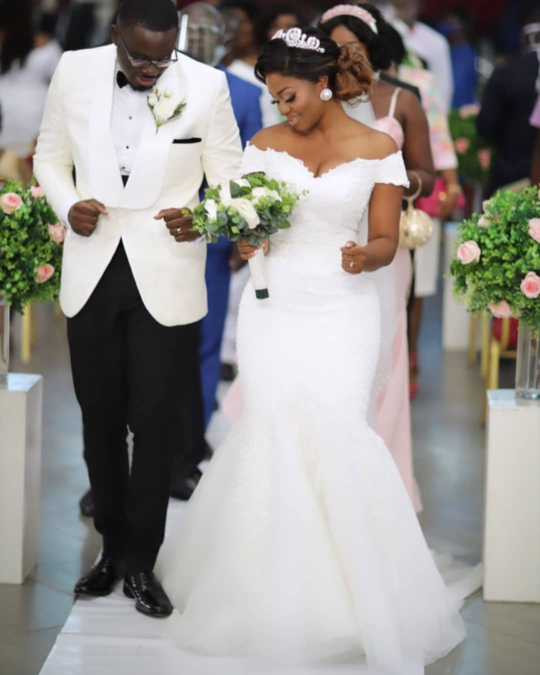 Enjoy This Beautiful at The #AnderClaude9 Wedding in Ghana