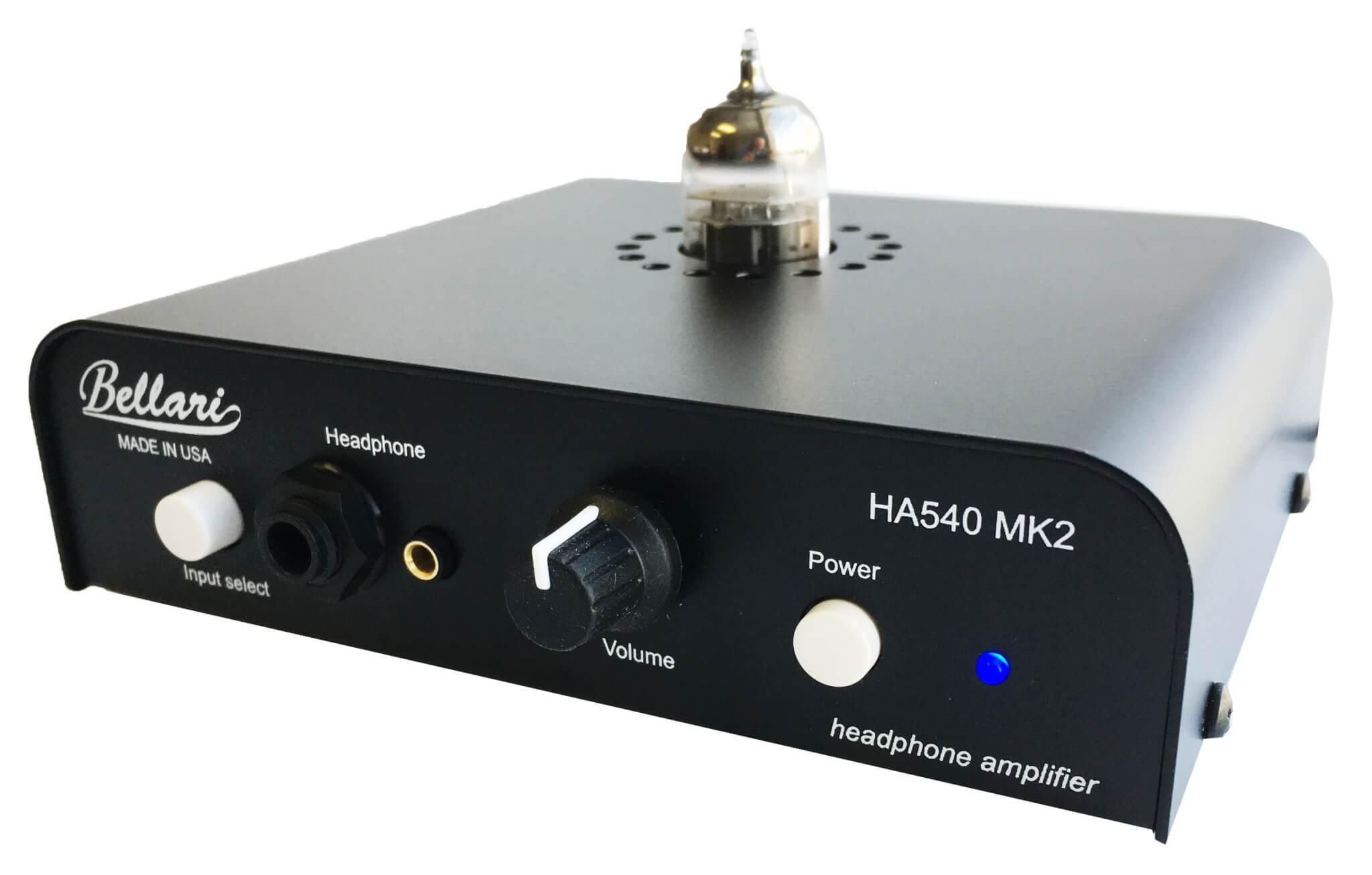 HA540 MK2 - Pure Class A Stereo Headphone Amplifier
