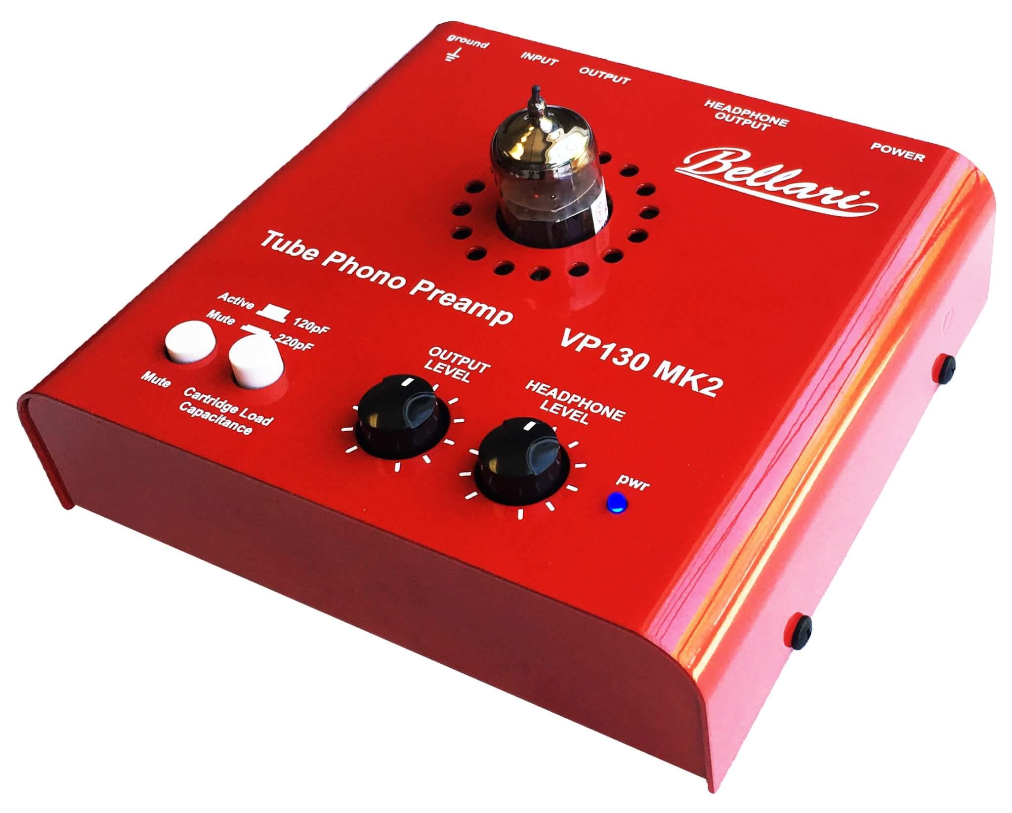 VP130 MK2 - Tube Phono Preamp - Bellari Audio