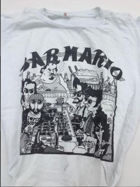 t-shirt Bar Mario opera di Gigi Cavalli Cocchi