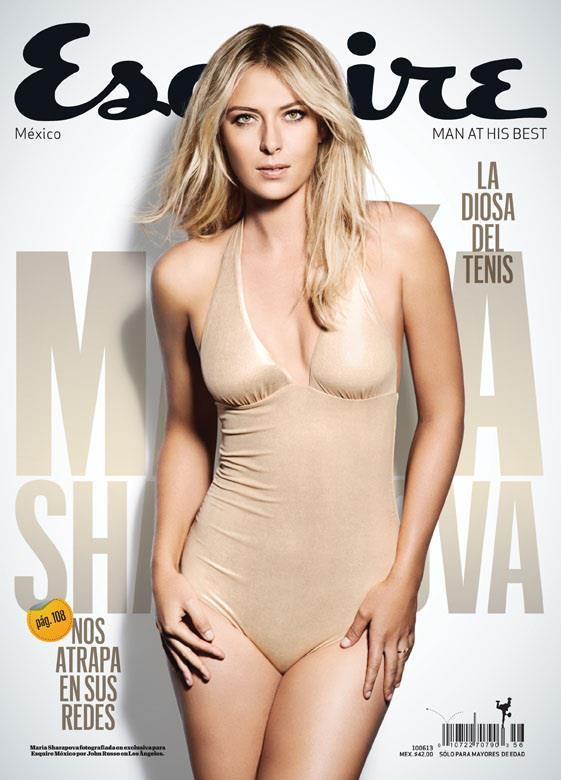 sulla copertina di ESquire