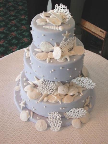 il mare anche sulla torta