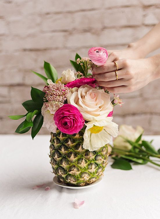 ananas in centrotavola