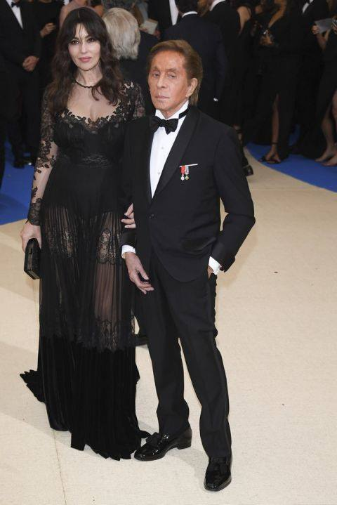 Monica Bellucci in Valentino