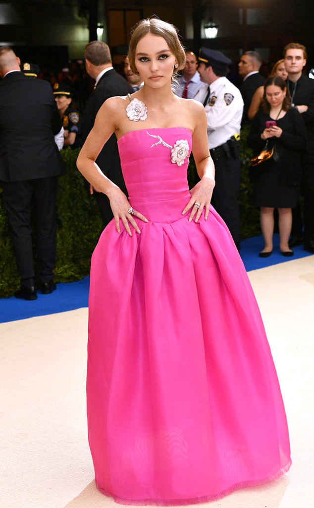 Lily-Rose Depp in CHANEL.