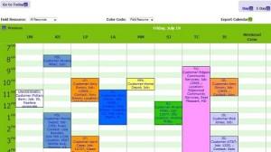 Bella Solutions Field Service Scheduling Software - Dispatch Board