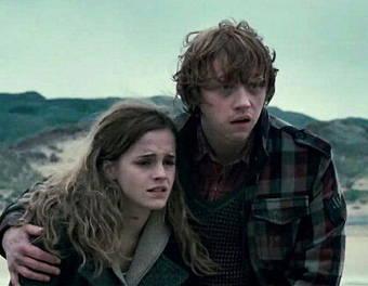 """Ron und Hermine aus """"Harry Potter"""""""