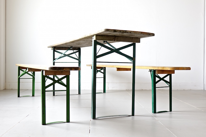 industrial table set