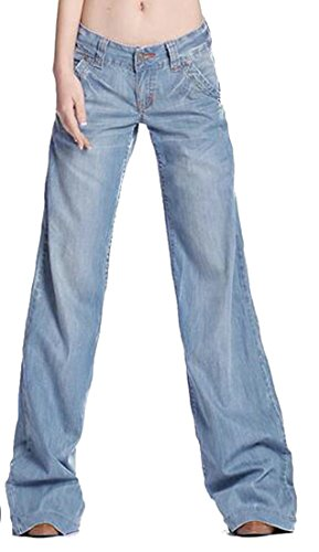 Jaycargogo Men Relaxed Fit Loose Fit Big and Tall Stretch Straight Leg Denim Jeans