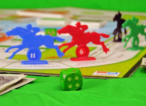 Horse Race Board Game