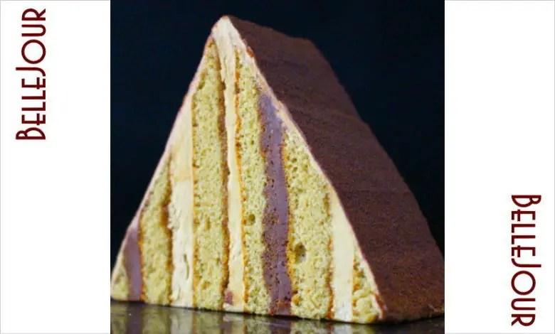 ピラミッドオペラ ベルジュールのケーキ