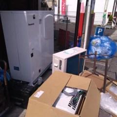 purehabnu - プレハブ冷蔵庫のユニット交換でした