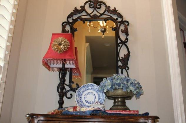 Belle Bleu Interiors French Country Entry Hall 7