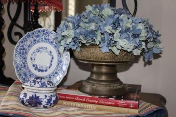 Belle Bleu Interiors French Country Entry Hall 9