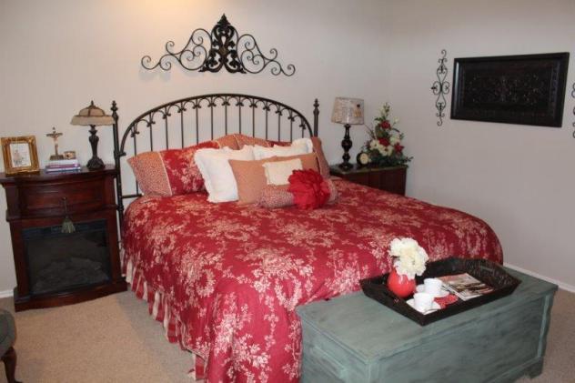 Belle Bleu Interiors - Master Bedroom