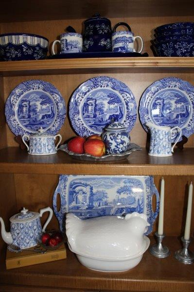 Belle Bleu Interiors Blue and White in the Kitchen 5