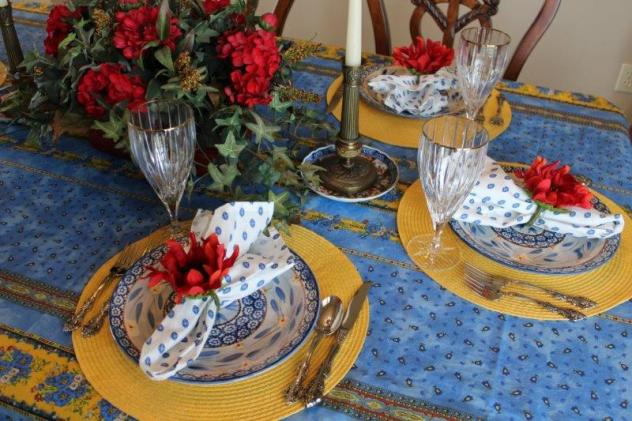 Belle Bleu Interiors French Country Tablescape 3