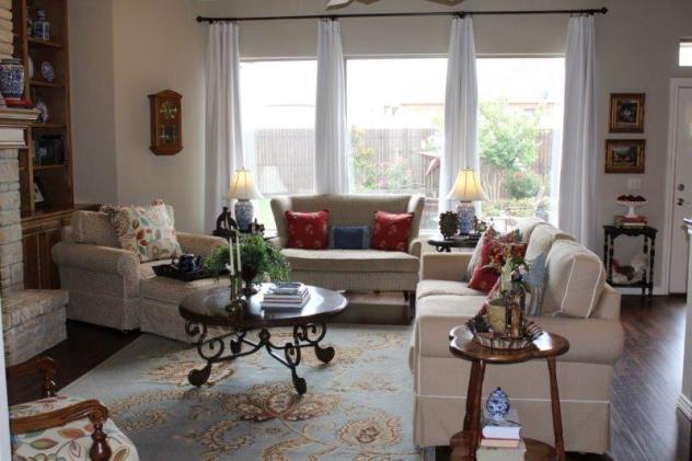 Belle Bleu Interiors Summer Living Room 15