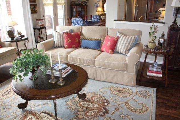 Belle Bleu Interiors Summer Living Room 16
