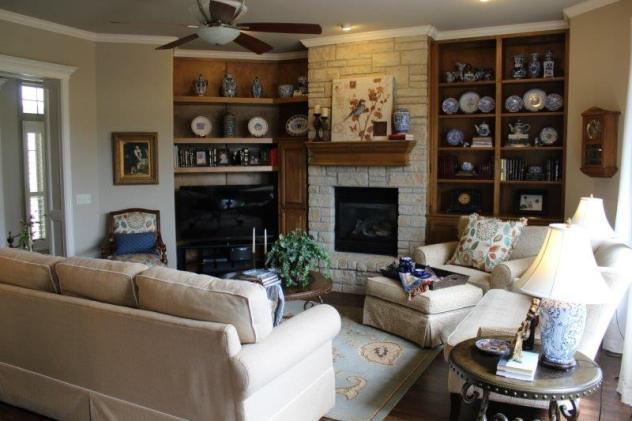 Belle Bleu Interiors Summer Living Room 19