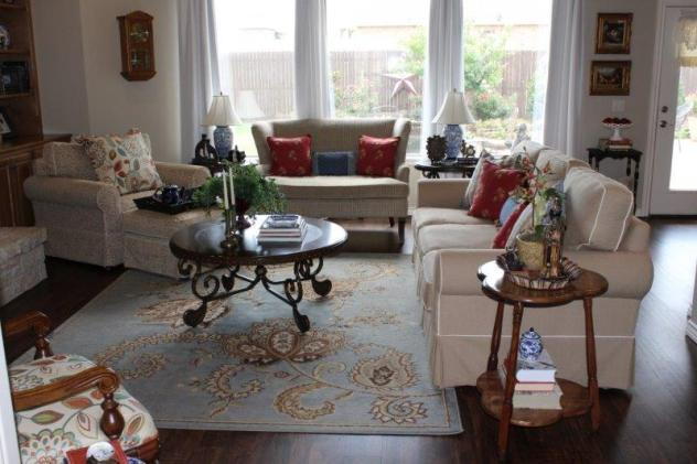 Belle Bleu Interiors Summer Living Room 20