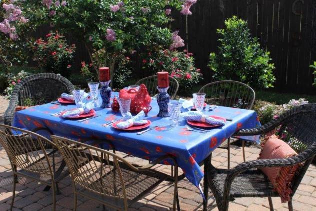 Belle Bleu Interiors Summer Tablescape 11