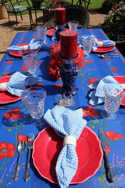 Belle Bleu Interiors Summer Tablescape 12
