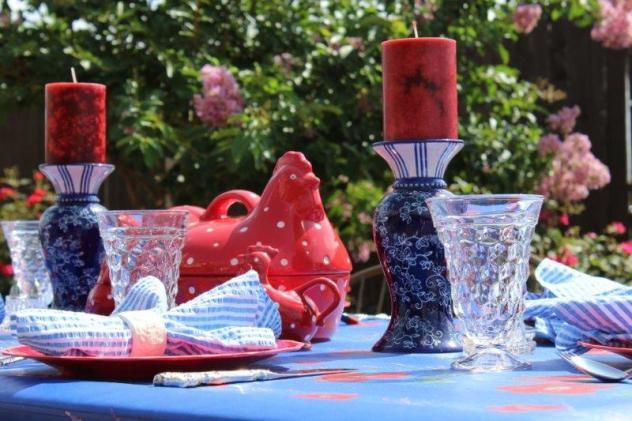 Belle Bleu Interiors Summer Tablescape 3