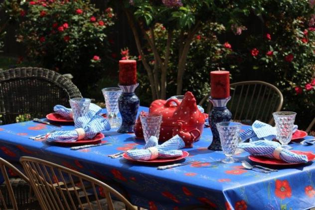Belle Bleu Interiors Summer Tablescape 6