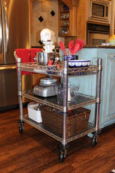 Belle Bleu Interiors Baking Cart 12