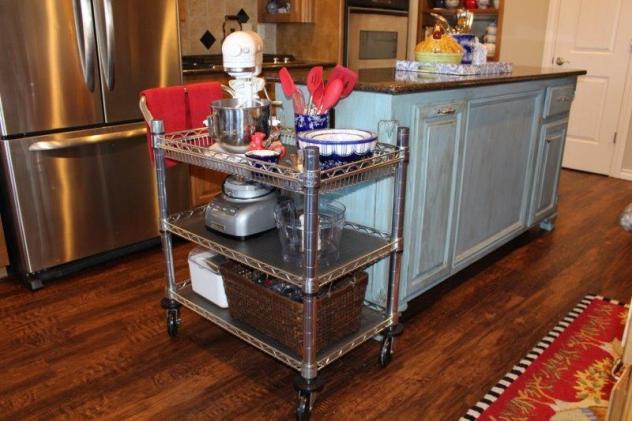 Belle Bleu Interiors Baking Cart 14