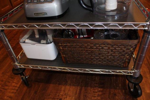 Belle Bleu Interiors Baking Cart 6