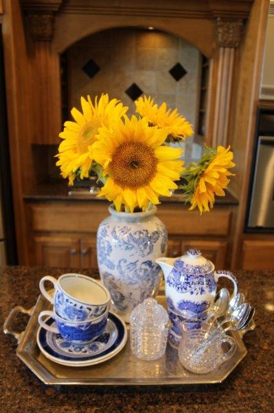 Belle Bleu Interiors Kitchen Vignette 1