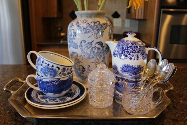 Belle Bleu Interiors Kitchen Vignette 2