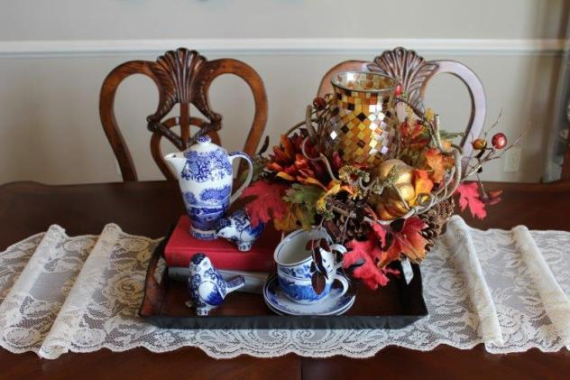 Belle Bleu Interiors Fall Dining Room 14