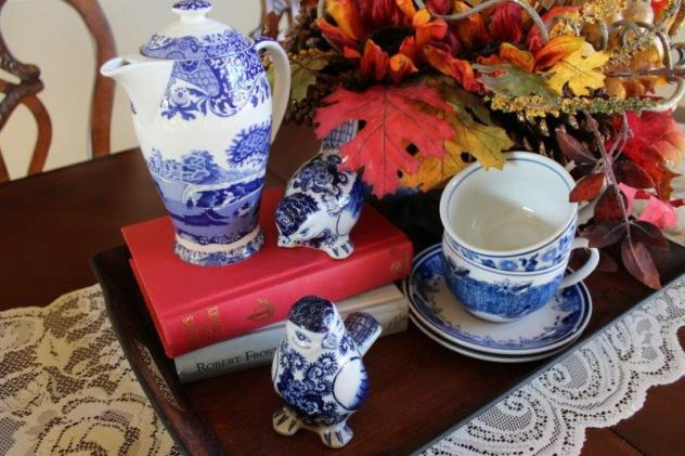 Belle Bleu Interiors Fall Dining Room 6