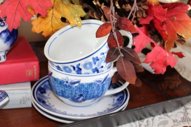 Belle Bleu Interiors Fall Dining Room 8
