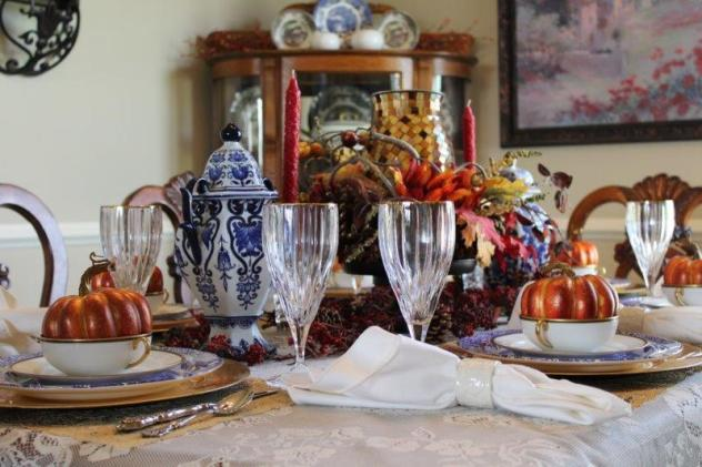 Belle Bleu Interiors Fall Tablescape 19
