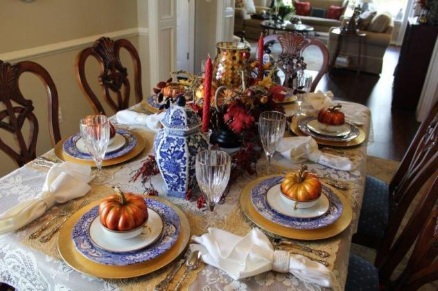 Belle Bleu Interiors Fall Tablescape 22