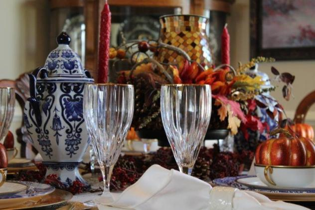 Belle Bleu Interiors Fall Tablescape 9