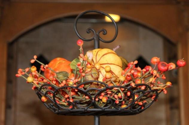 Belle Bleu Interiors Fall Tiered Tray 10