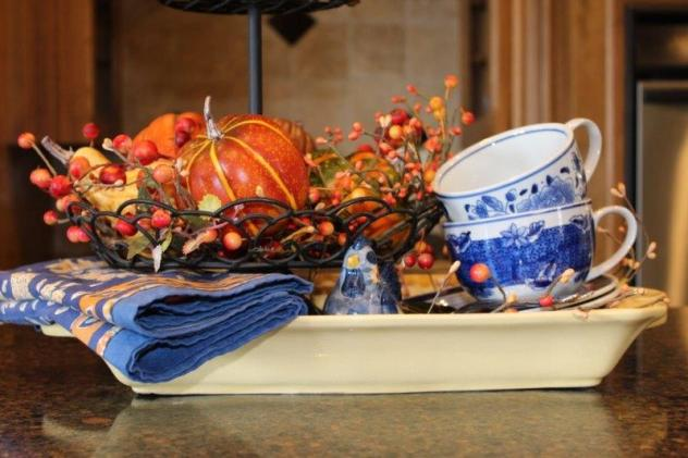Belle Bleu Interiors Fall Tiered Tray 9