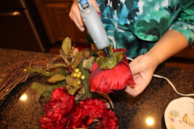 Belle Bleu Interiors Fall Wreath 21