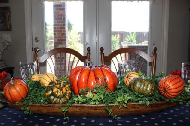 Belle Bleu Interiors Pumpkin Tablescape 11
