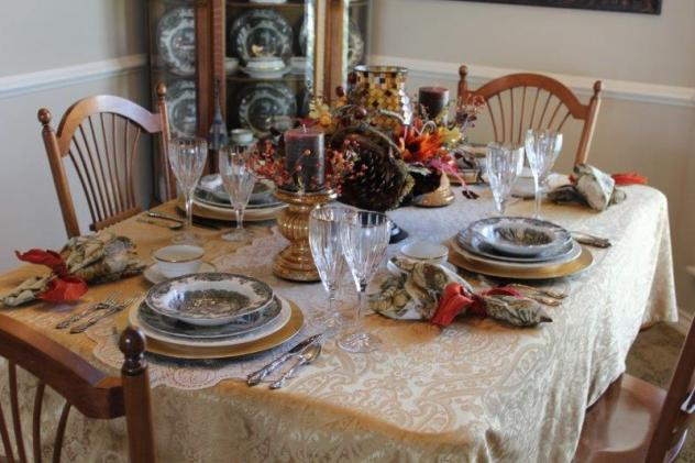 Belle Bleu Interiors Autumn Tablescape 17
